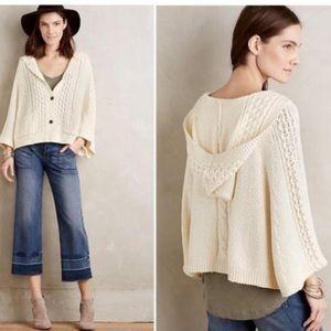 Anthro Rosie Neira Vienne Knit Cardigan Sweater